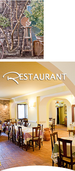 Restaurant in Assisi for couples, families and groups. Tourist menu.